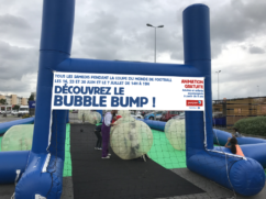 Bubble Bump au centre commercial Carrefour Purpan