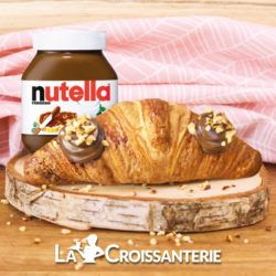 Croissant au Nutella, La croissanterie, exclusivité, gourmandise, gourmand