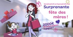 Fête des mères centre commercial carrefour purpan 2000€ de cadeaux à gagner
